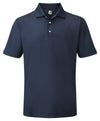 Footjoy Stretch Pique Solid Knit Collar