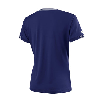 Wilson Paita Team V-Neck Blue Depth
