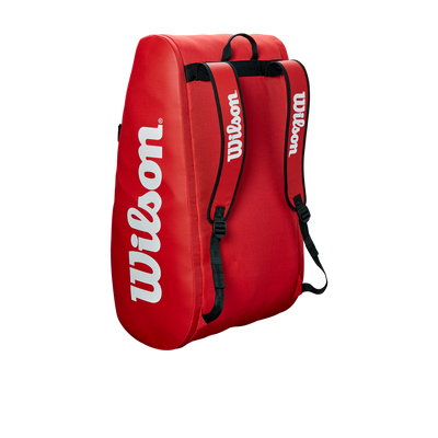 Wilson Mailakassi Tour 3 Compartment Red, Välineet, www.sportif.fi