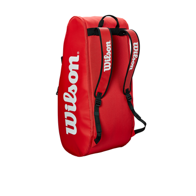 Wilson Mailakassi Tour 2 Compartment Large Red, Välineet, www.sportif.fi