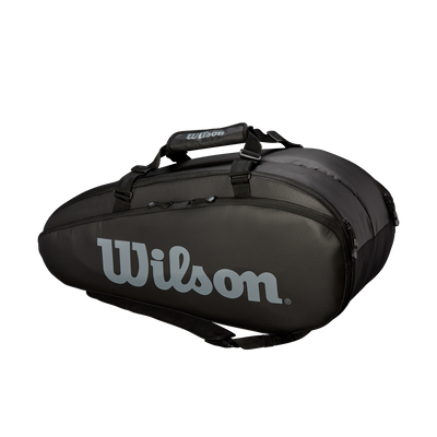 Wilson Mailakassi Tour 2 Compartment Large Black/White, Välineet, www.sportif.fi