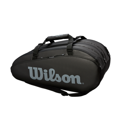 Wilson Mailakassi Tour 3 Compartment Black/White, Välineet, www.sportif.fi