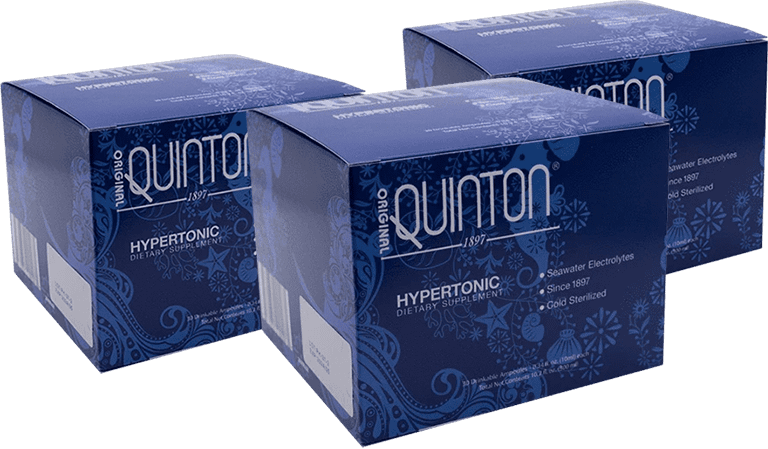 3 Boxes of Hypertonic Ampoules