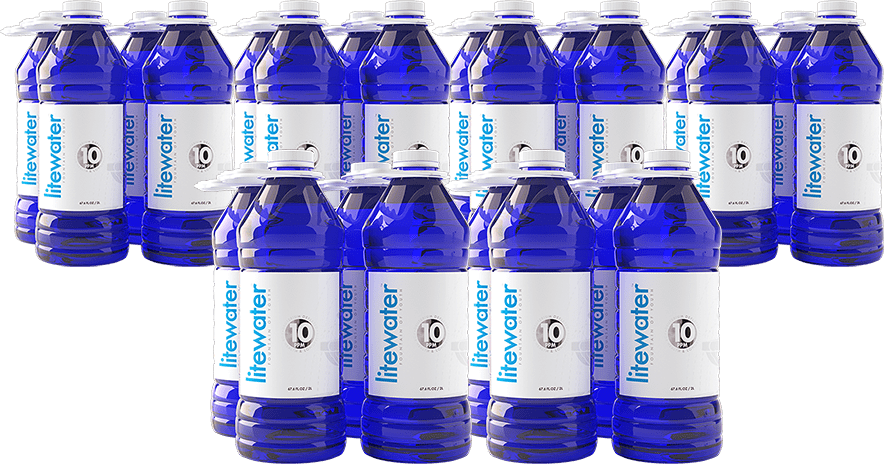 6 Cases of 10 ppm Litewater