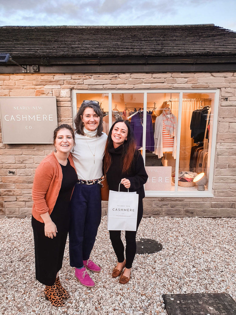 The Nearly New Cashmere Co Launch Party