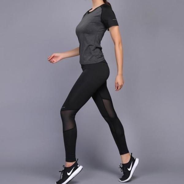 DYNABELLE.FR - Ensemble vêtements de sport - leggings et tee-shirt -