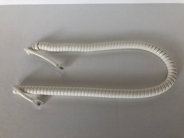 12 Foot Off White Universal Telephone Handset Cord