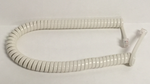 9 Foot Off White / Ivory Universal Telephone Handset Cord
