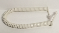 9 Foot Universal Telephone Handset Cord - Light Ivory Color
