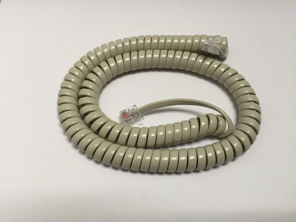 12 Foot Handset Cord for Nortel Norstar Meridian Business Phone Ash / Beige