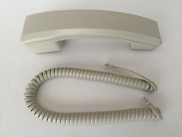 Handset w/ Curly Cord for Nortel Norstar Phone M7310 M7208 M7324 M7100 M2616 M2008 Ash