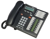 Refurbished Nortel Norstar T7316E Business Phone (Black / Charcoal)