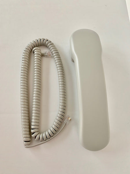 Handset w/ Curly Cord for Nortel Norstar Phone T7316E T7208 T7100 M3904 M3903 Platinum