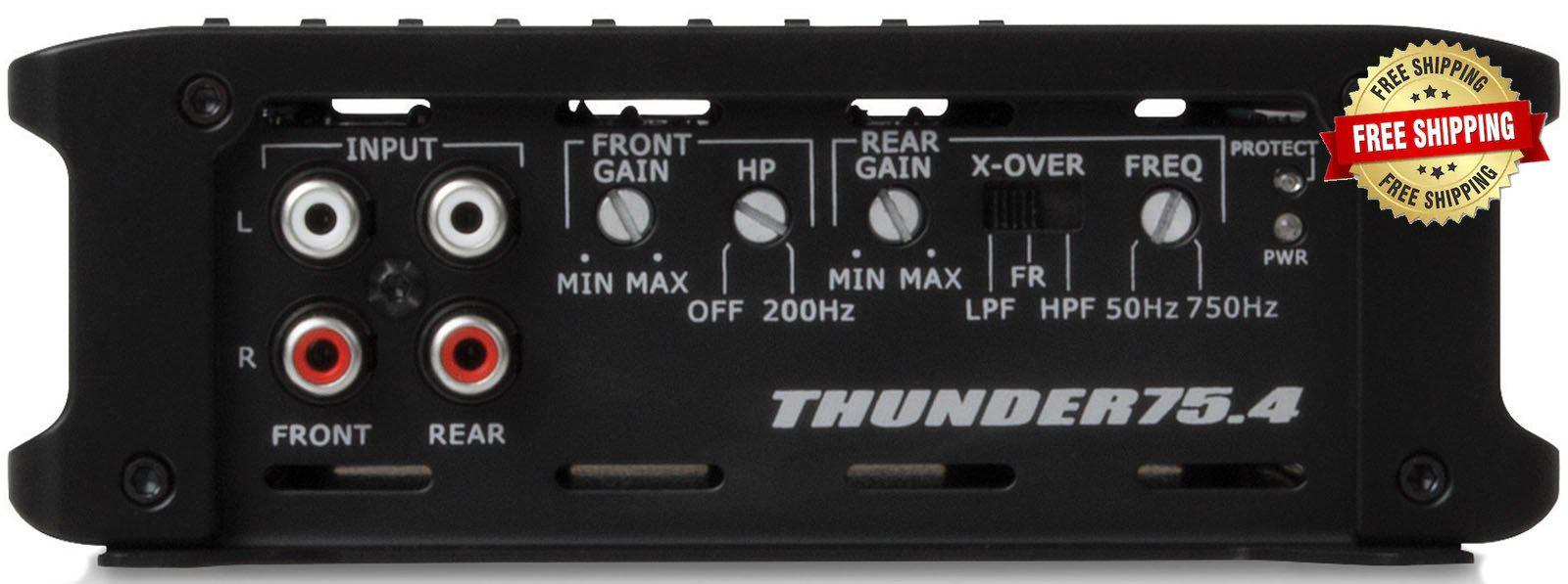 MTX Thunder Series 4-Channel Amplifier
