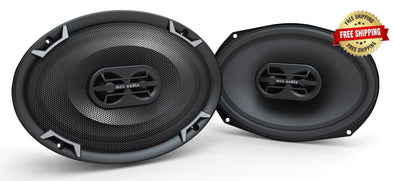 "MTX Thunder 7"" x 10"" Coaxial Speakers"