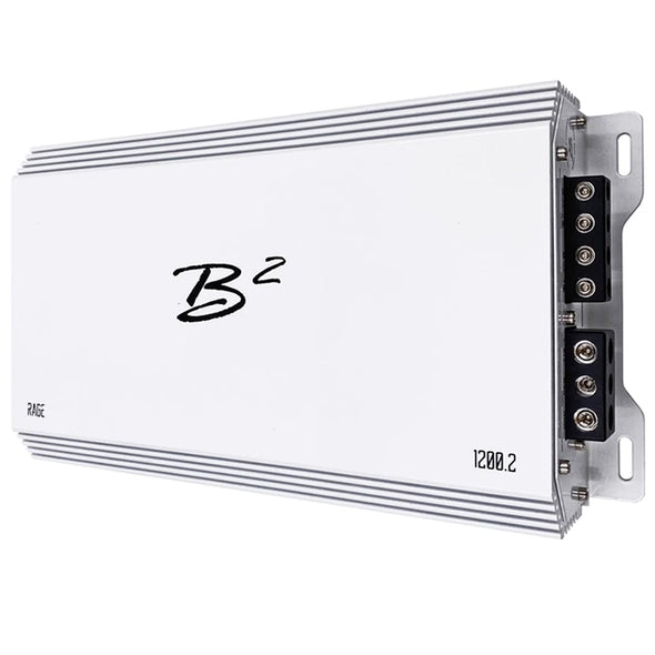 B2 Audio Rage 1200.2 2-Channel Amplifier