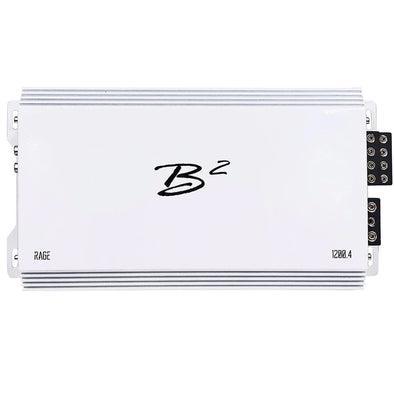 B2 Audio Rage 1200.4 4-Channel Amplifier