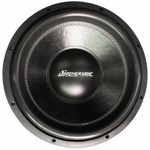 "Synergy Audio WFO 15"" Subwoofer Dual 4 Ohm"