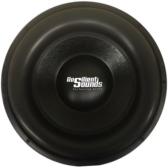 "Resilient Sounds Team Series 15"" Subwoofer Dual 1 Ohm"
