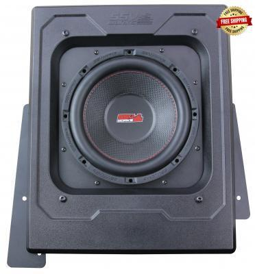 "SSV Works Polaris Slingshot Single 10"" Subwoofer Enclosure"