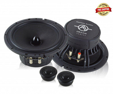 "Ampere Audio AA-6.5C 6.5"" Component Speakers"