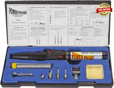 POWER PROBE Butane Soldering Kit
