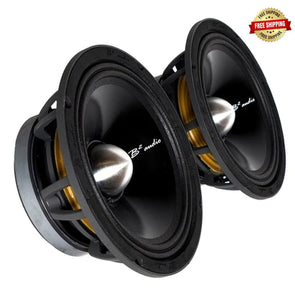 "B2 Audio Rage P 8"" Midrange Drivers (Pair)"