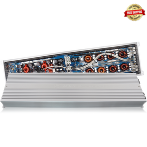 Ampere Audio AA-7500.1D 7,500 Watt Amplifier