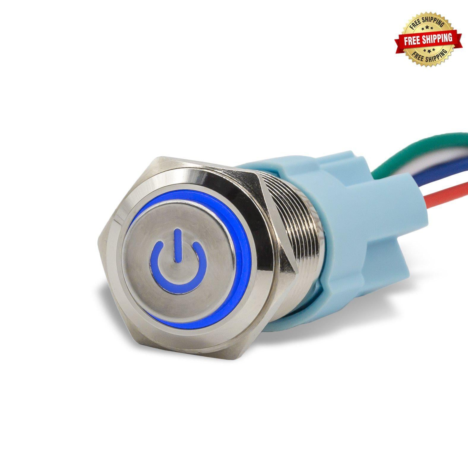 Sparked Innovations Illuminated Switches for Relay Box -