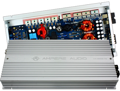 Ampere Audio AA-2000.1D 2,000 Watt Monoblock Amplifier