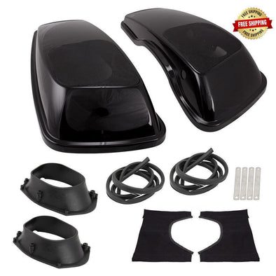 Harley 2014-Up Saddlebag Covers w/ 6x9in Speaker Adaptors