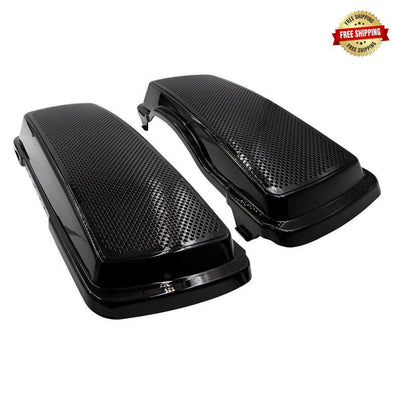 Harley Davidson Saddlebag Speaker Adapter and Lid 6X9 Inch 1994-2013 ABS