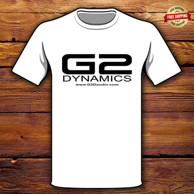 G2 Dynamics White Tee Shirt