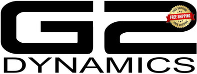 G2 Dynamics Vinyl Decal (Small & Medium Size)
