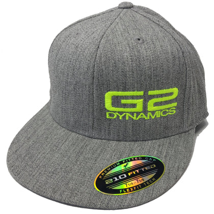 G2 Dynamics Flex-Fit Monogrammed Hats - Flat Bill