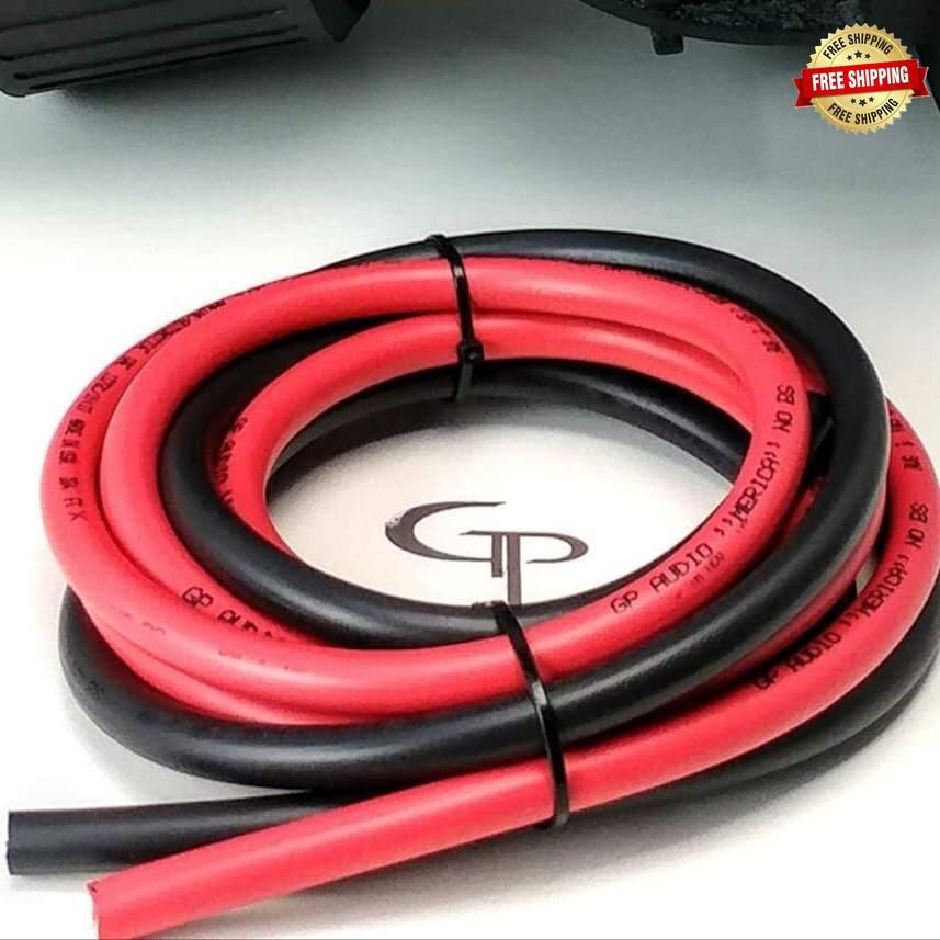 GP Car Audio 8 AWG Power Wire