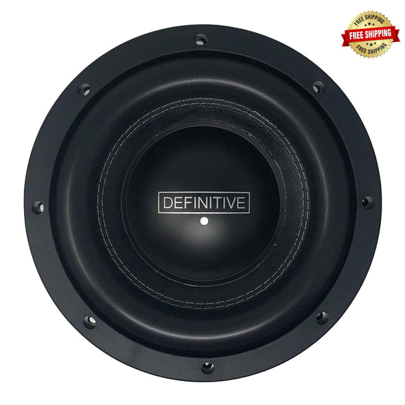 "Definitive Audio Designs KMH Series 8"" Subwoofer"