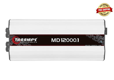 Taramps MD 12000.1 12,000 Watt Monoblock Amplifier .5-Ohm Stable