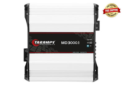 Taramps MD 3000.1 3,000 Watt Monoblock Amplifier 1-Ohm Stable