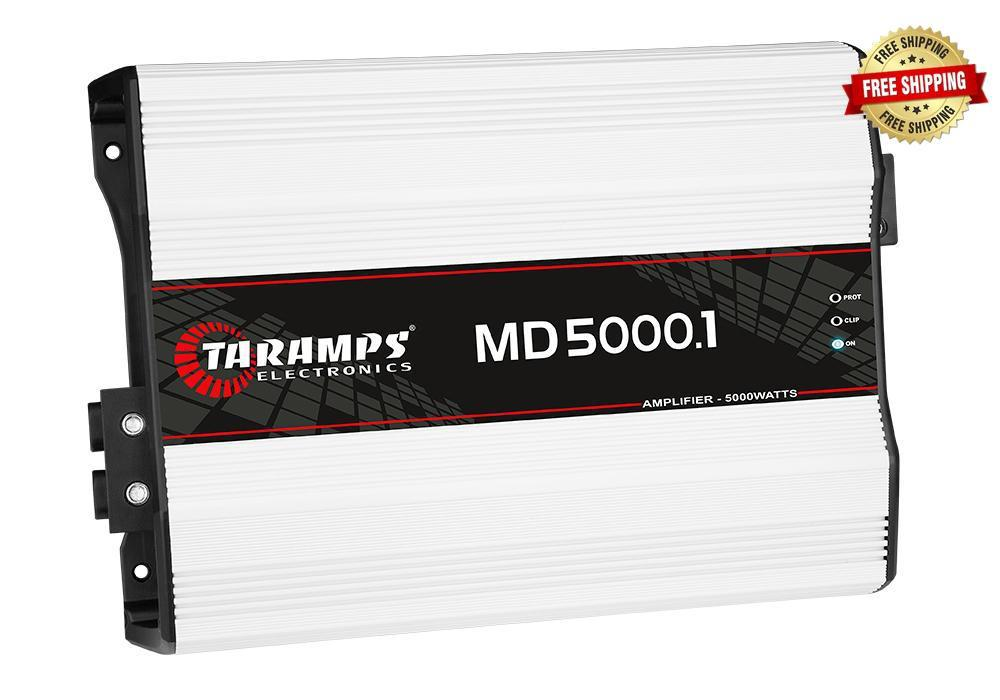 Taramps MD 5000.1 5,000 Watt Monoblock Amplifier 1-Ohm Stable