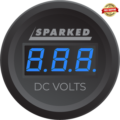 Sparked Innovations Single Display Volt Meter