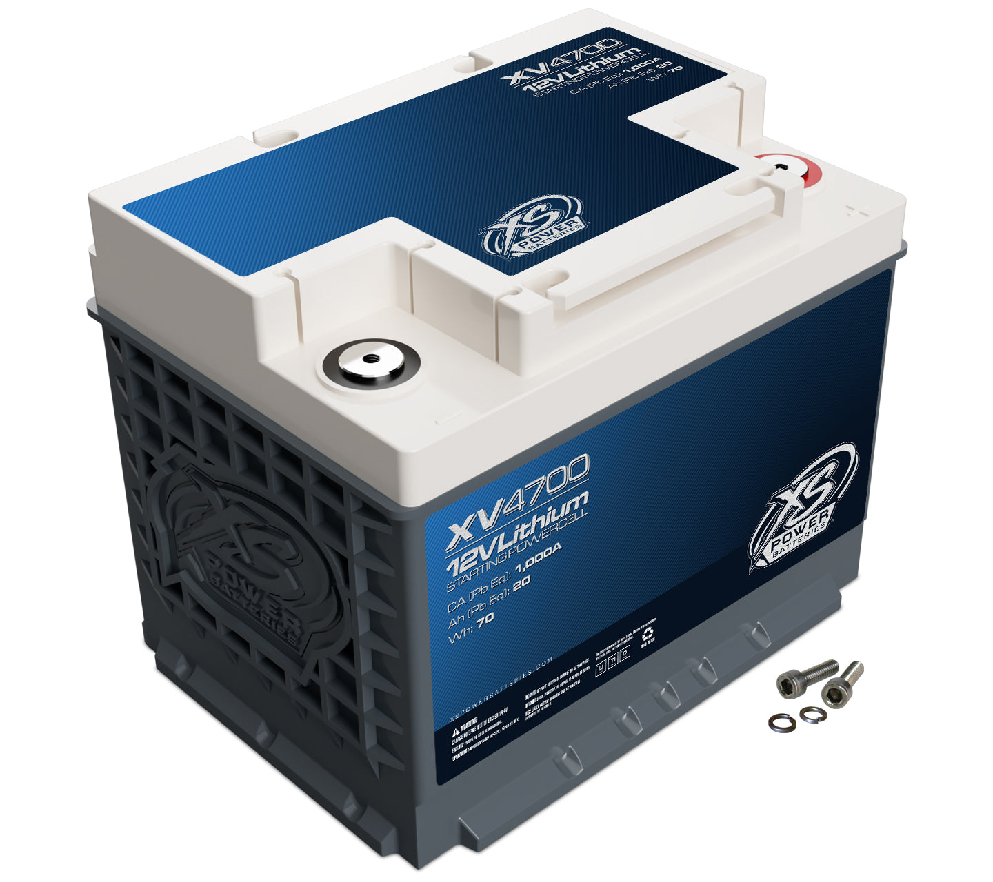 XS Power XV4700 Lithium Titanate Battery (Group 47 / H5 / L2)