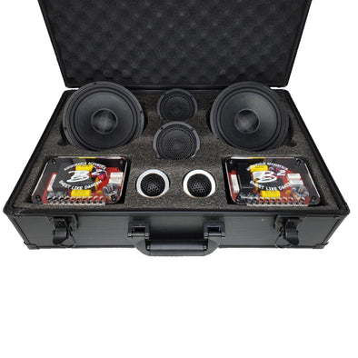 "B2 Audio Mani 6.5"" 3-Way Component Speakers"