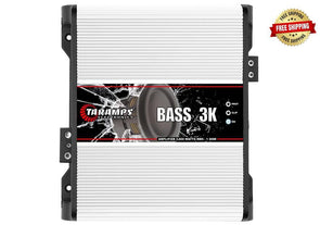 Taramps Bass Series 3,000 Watt Monoblock Amplifier (1 Ohm Stable)