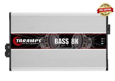 Taramps Bass Series 8,000 Watt Monoblock Amplifier (1 Ohm Stable)
