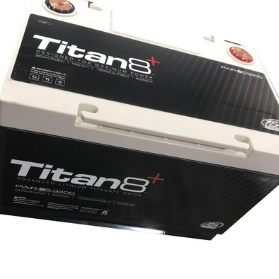 XS Power Titan8+ BCI Series Group 34 Cased Lithium Battery