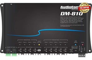 Audio Control DM-810 8-In / 10-Out Digital Sound Processor