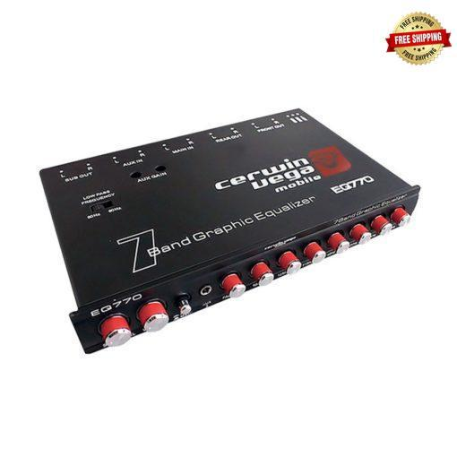 Cerwin Vega EQ-770 7-Band Parametric Equalizer