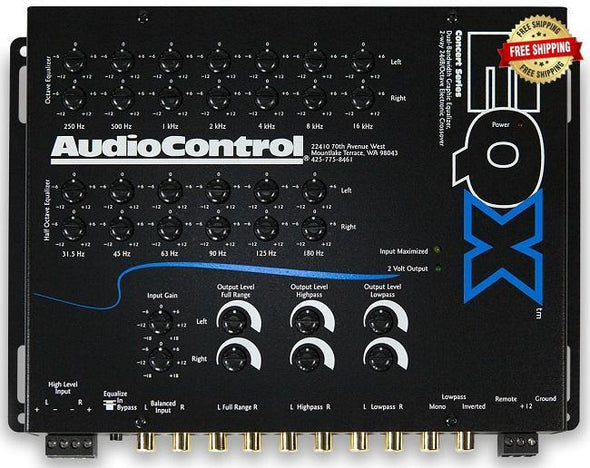 AudioControl EQX 2 Channel Equalizer