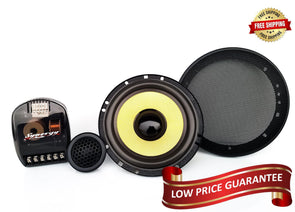 "Synergy Audio 6.5"" Component Speakers"
